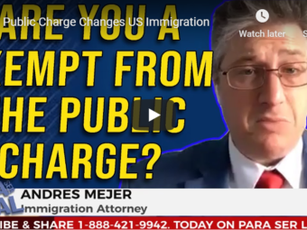 public charge exemptions