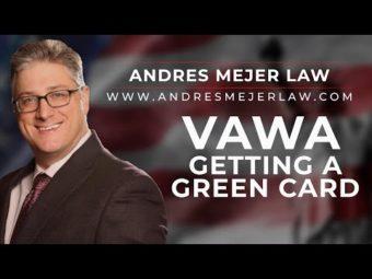tarjeta verde VAWA